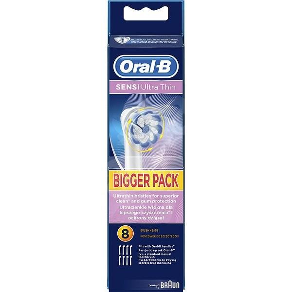 Oral-B Sensitive UltraThin 8 ks - Náhradné hlavice