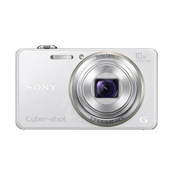 Sony CyberShot DSC-WX100 bílý - Digitální fotoaparát