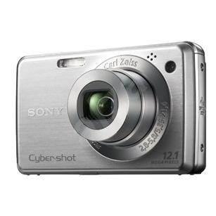 Sony CyberShot DSC-W220S stříbrný - Digitální fotoaparát