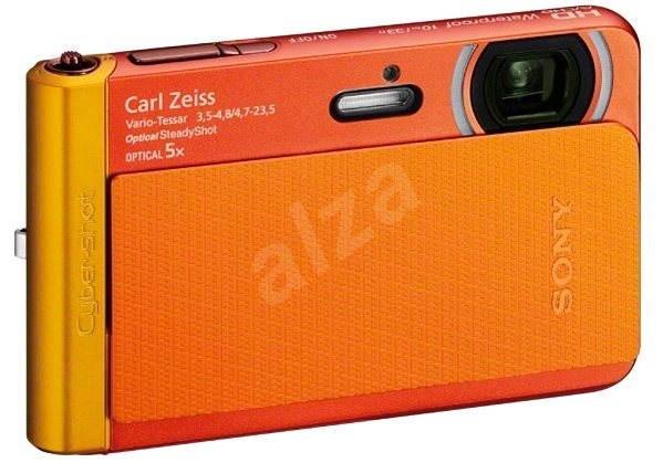 Sony CyberShot DSC-TX30 oranžový - Digitálny fotoaparát