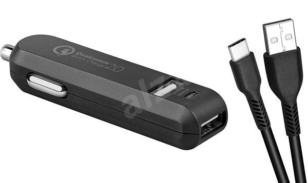 AVACOM CarMAX 2 nabíjačka do auta, USB-C, čierna - Nabíjačka do auta
