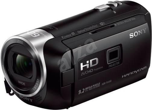 Sony HDR-PJ410 čierna - Digitálna kamera