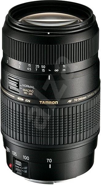 TAMRON AF 70-300mm F / 4-5.6 Di pre Nikon / Fuji LD Macro 1: 2 - Objektív