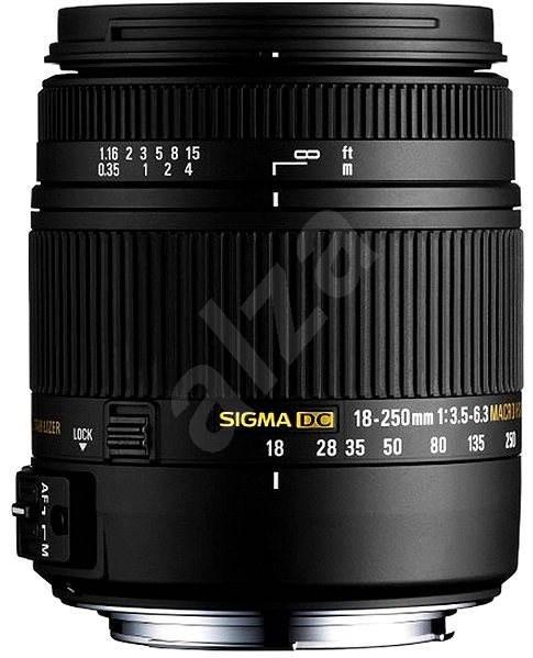 SIGMA 18–250 mm f/3,5–6,3 DC Macro OS HSM pro Sony - Objektív