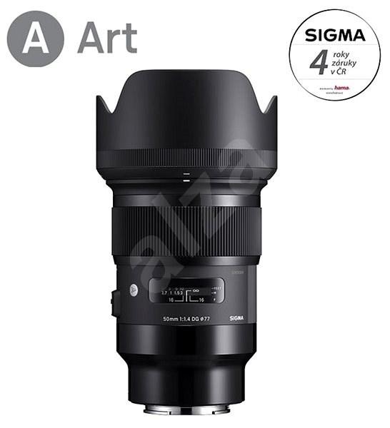 SIGMA 50 mm f/1,4 DG HSM ART pre Sony E - Objektív