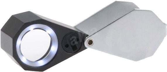 Viewlux 10 × 21 mm s LED svetlom - Lupa