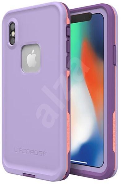 LifeProof Fre pre iPhone X – fialové - Puzdro na mobil  b8c6fac33e9