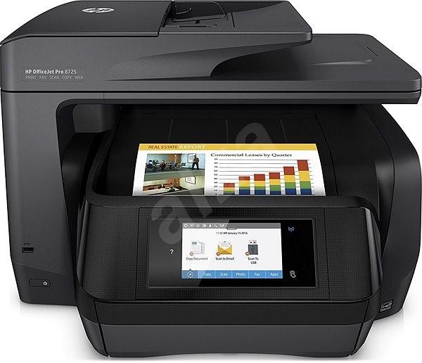 HP OfficeJet Pro 8725 e-All-in-One - Atramentová tlačiareň