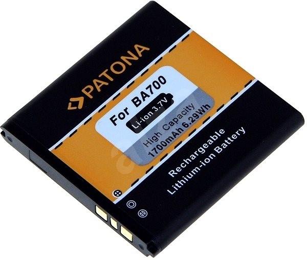 PATONA pre Sony Ericsson BA700 1700 mAh 3,7 V Li-Ion - Batéria do mobilu