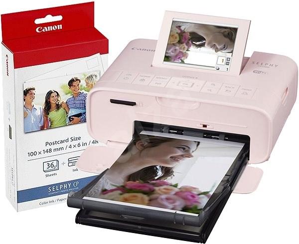 Canon SELPHY CP1300 ružová + papier KP-36 - Termosublimačná tlačiareň
