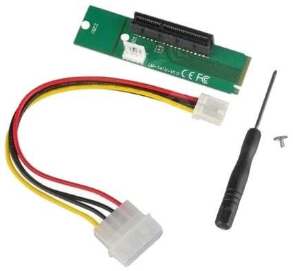 ANPIX redukcia z NGFF M2 (key M) na PCI-E 4× - Redukcia