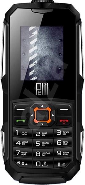 Pelitt Pebble čierny - Mobilný telefón