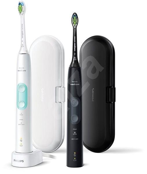 b7775ba62 Philips Sonicare ProtectiveClean Gum Health Black and White HX6857/35 - Elektrická  zubná kefka