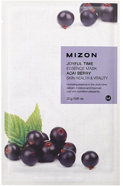 MIZON Joyful Time Essence Mask Acai Berry 23 g - Pleťová maska