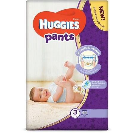 HUGGIES Pants Jumbo - 3 (44 ks) - Plienkové nohavičky