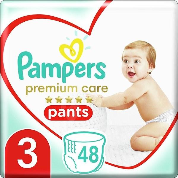 PAMPERS Pants Premium Care Midi veľ. 3 (48 ks) - Plienkové nohavičky