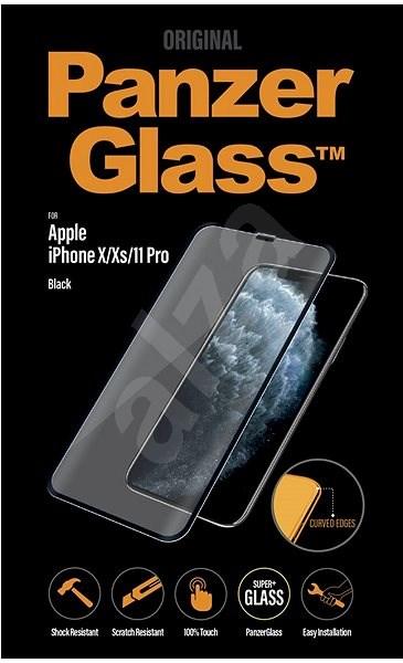 PanzerGlass Premium pre Apple iPhone X/Xs/11 Pro čierne - Ochranné sklo