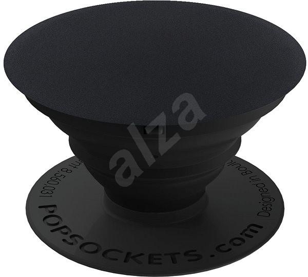 PopSocket Black Aluminum - Držiak