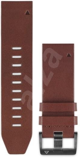 Garmin QuickFit 22 kožený hnedý - Remienok