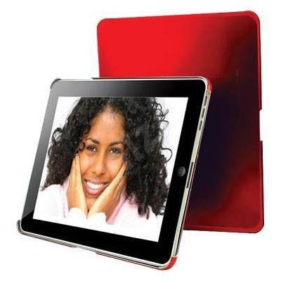 DEXIM Glossy PC Sleeve červené - Puzdro na tablet