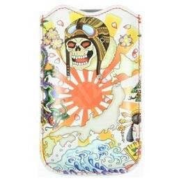 Ed Hardy Leather Kamikaze - Pouzdro na mobilní telefon