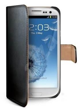 CELLY WALLY232 čierne - Puzdro na mobil. PREDAJ SKONČIL. Puzdro na mobil  pre Samsung Galaxy ... 9d5d7fb608c
