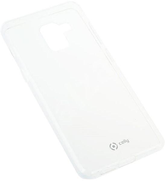 CELLY GELSKIN na Samsung Galaxy A8 (2018) bezfarebný - Kryt na mobil