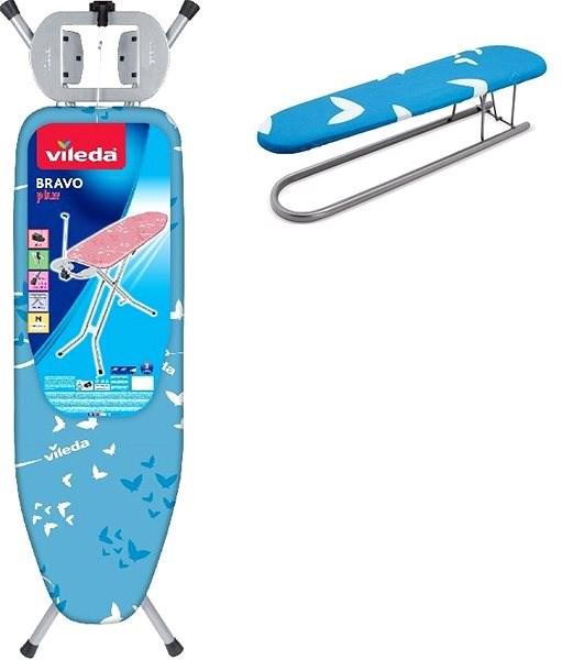 17cd0f58d VILEDA Viva Express Eco - modrá farba + rukávnik ZADARMO - Žehliaca doska