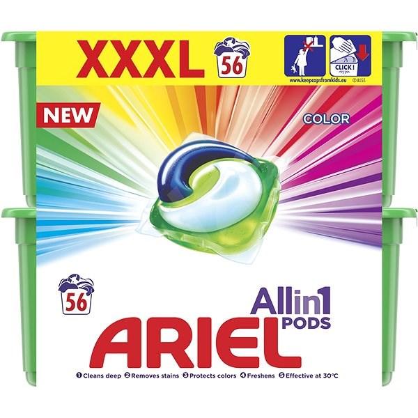 ARIEL Color 3in1 56 ks - Kapsuly na pranie