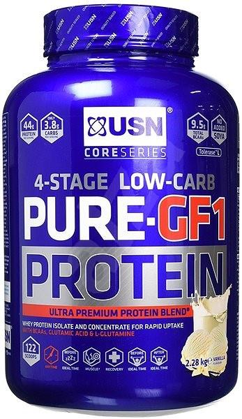 USN Pure Protein GF-1 vanilka - Proteín