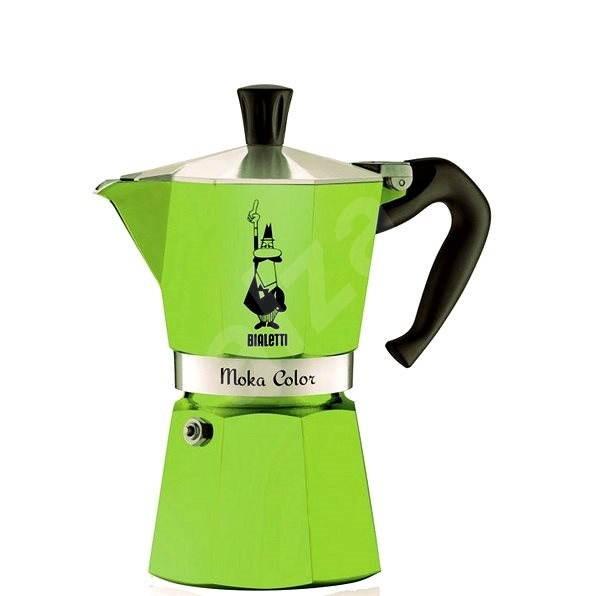 Bialetti Moka Color, zelená - Moka kávovar