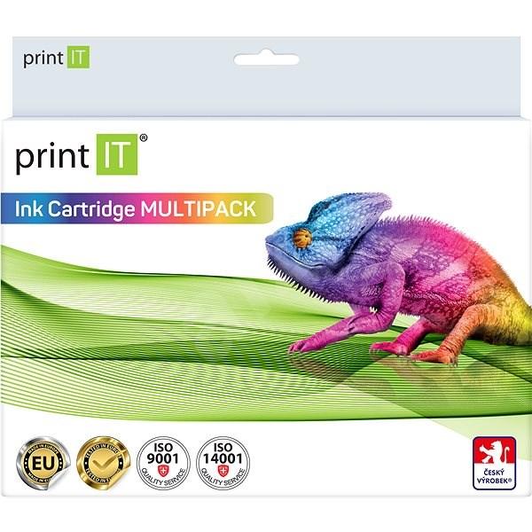 PRINT IT Multipack T0715 C/M/Y/Bk pre tlačiarne Epson - Alternatívny atrament