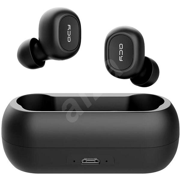 QCY T1C čierna - Slúchadlá s mikrofónom