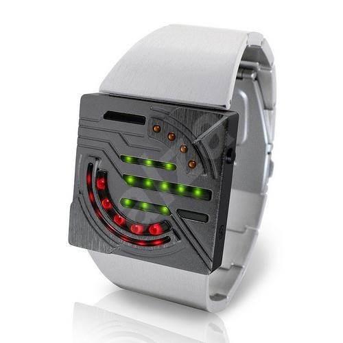 TokyoFlash Sensai Alloy - Binárne hodinky