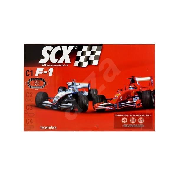 SCX C1 F1 Ferrari + Raikkonen - Autodráha