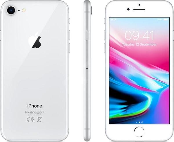 9d1efda1d7 iPhone 8 256 GB Strieborný - Mobilný telefón