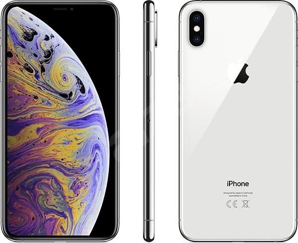 b6b74c0bb5 iPhone Xs Max 256GB strieborná - Mobilný telefón