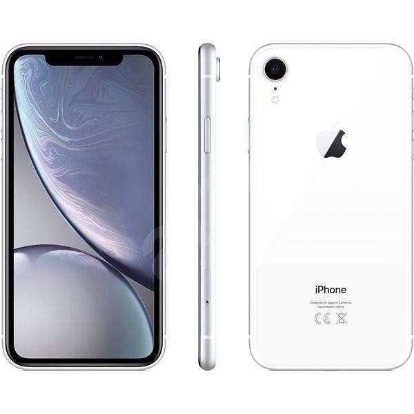 iPhone Xr 256GB biela - Mobilný telefón
