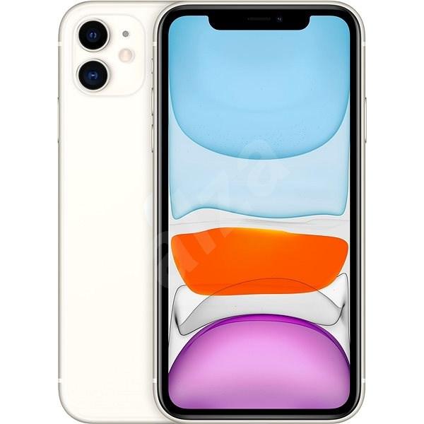 iPhone 11 128 GB biela - Mobilný telefón