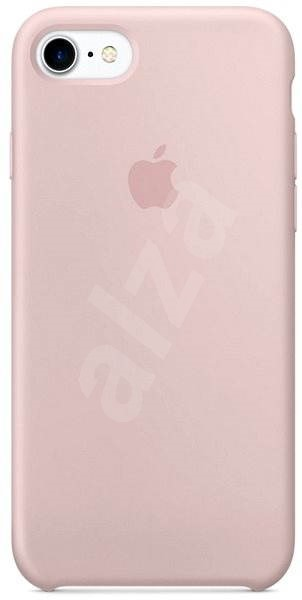 iPhone 7 Silikónový kryt pieskovo ružový - Ochranný kryt  a83fefda646