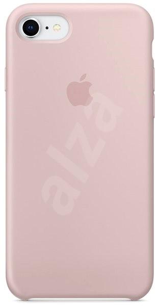 iPhone 8 7 Silikónový kryt pieskovo ružový - Kryt na mobil daf4f885eb8