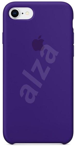 iPhone 8 7 Silikónový kryt tmavo fialový - Ochranný kryt  b7d4b0b710b