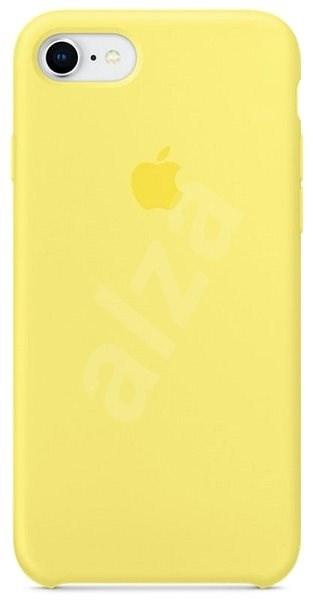 iPhone 8 7 Silikónový kryt citrónovo žltý - Ochranný kryt  c38059b40f2