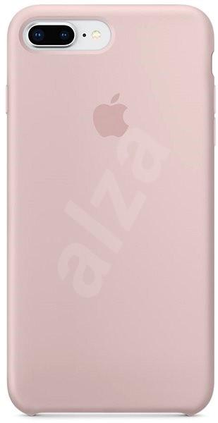 iPhone 8 Plus 7 Plus Silikónový kryt pieskovo ružový - Kryt na mobil 84c8e942fe1