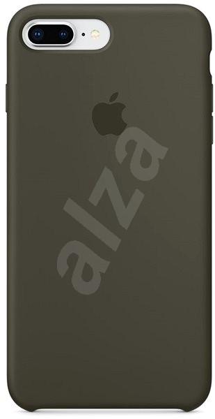 iPhone 8 Plus 7 Plus Silikónový kryt tmavo olivový - Kryt na mobil ... f163cbc684b