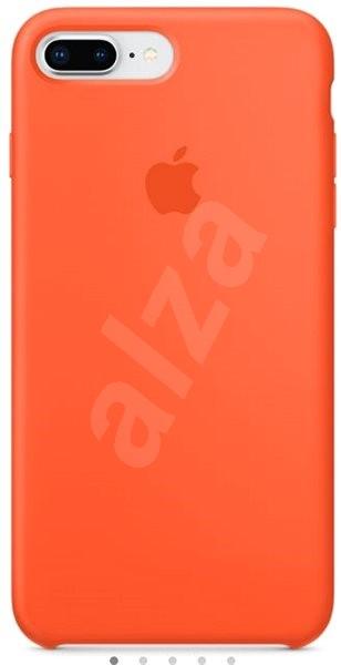 iPhone 8 Plus 7 Plus Silikónový kryt paprikovo oranžový - Ochranný kryt.  PREDAJ SKONČIL 2ac374c4f46