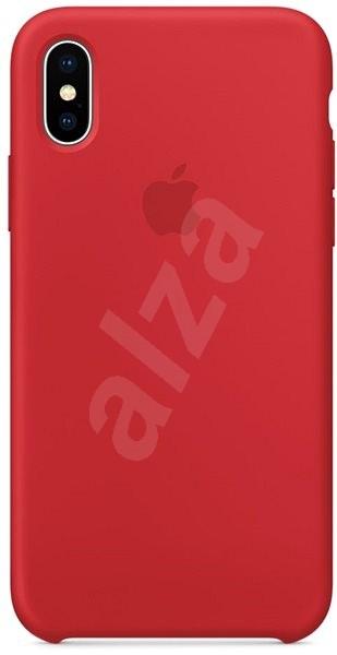 iPhone X Silikónový kryt červený - Kryt na mobil  2cf13f5bd34
