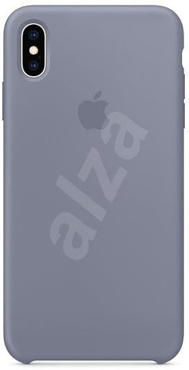 iPhone XS Silikónový kryt levanduľovo sivý - Kryt na mobil  a524a4ff3df