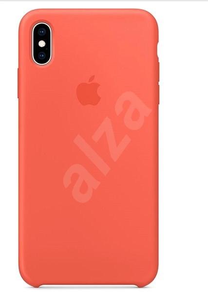 iPhone XS Silikónový kryt nektarinkový - Kryt na mobil  69dc42fcbd2