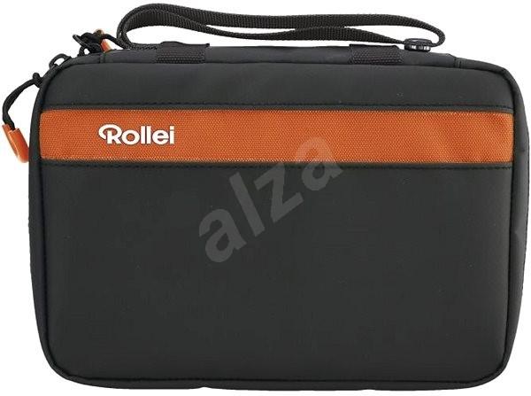 Rollei cestovné puzdro oranžové - Taška  5d6576cf6c